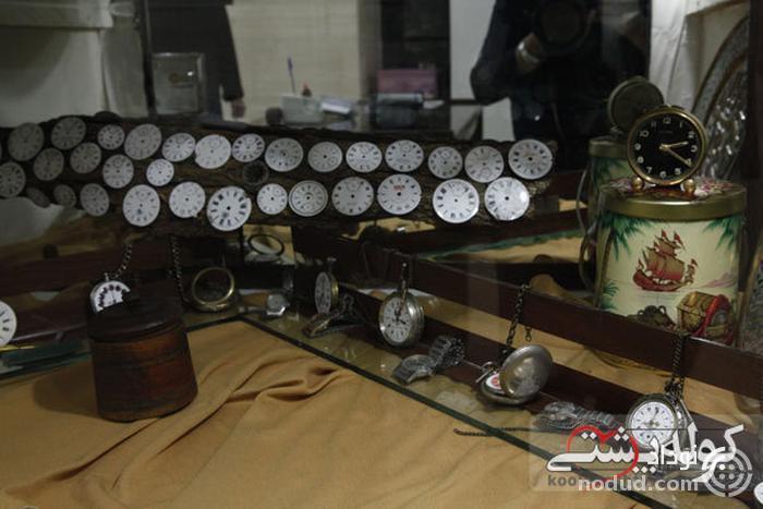 موزه ساعت کرمان؛ ساعت های چوبی و دست ساز