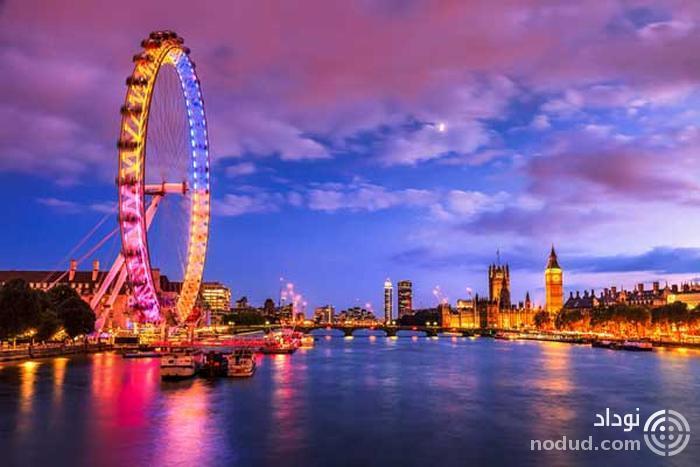 چشم لندن یا چرخ هزاره، لندن