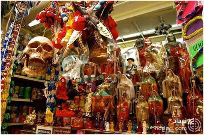 فروشگاه جادوگری سونارا در مکزیکو سیتی، مکزیک