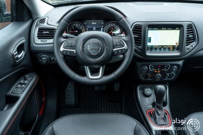 تجربه رانندگی با جیپ کامپس تریل هاوک 2019 جدید