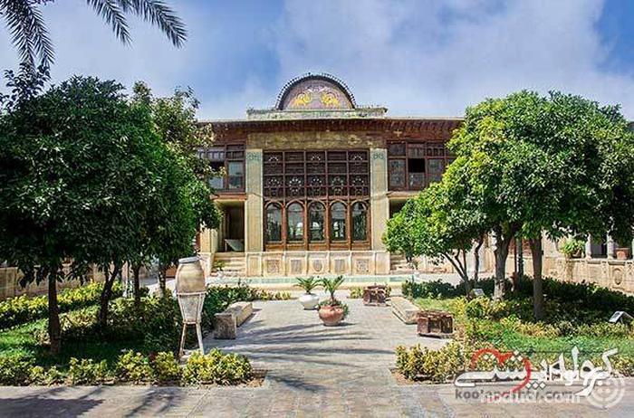 خانه زینت الملک در عمارت اندرونی نارنجستان قوام