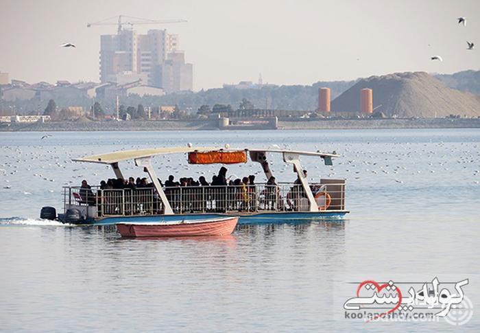 قایق سواری چیتگر تهران