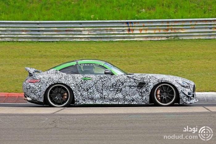 مرسدس AMG GT R بلک سریز، کابوس شبانه ی پورشه!