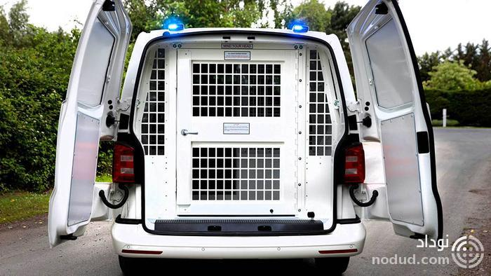 ون جدید فولکس واگن برای حمل زندانی ها