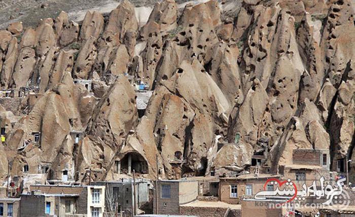 روستای کندوان؛ خانه هایی به شکل کندوی عسل