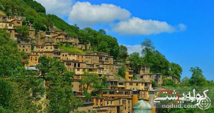 روستای ماسوله؛ بافت پلکانی و جذاب