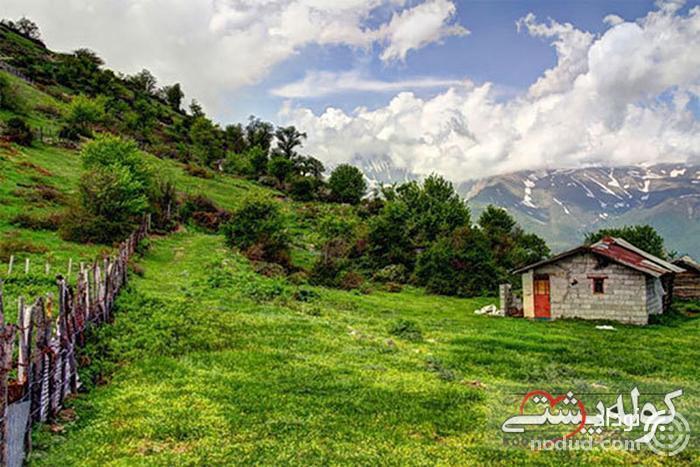 روستای مازیچال؛ ییلاقی، زیبا و چشم نواز