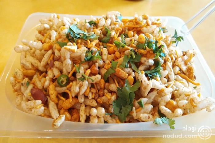 بلپوری (Bhelpuri) خوراکی سرگرم کننده