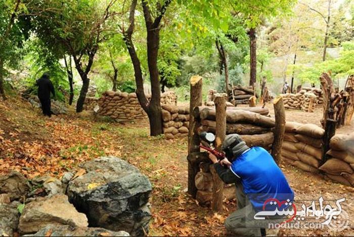 پینت بال در شیراز