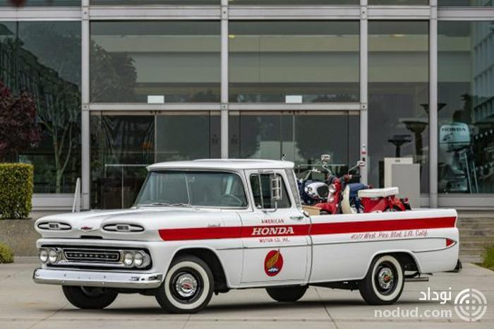جشن 60 سال حضور هوندا در آمریکا با بازسازی پیکاپ شورلت!