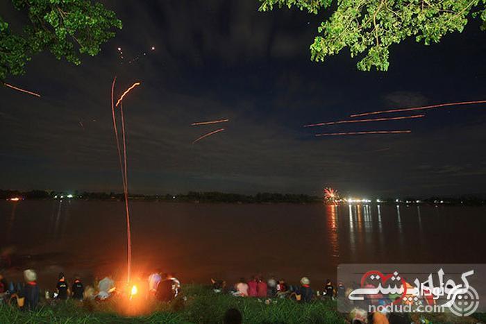 توپ های آتشی Mekong Naga
