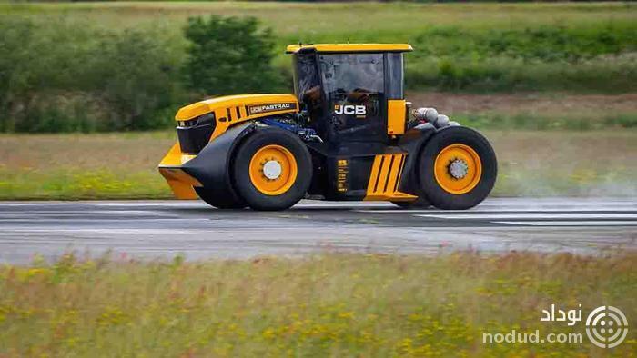 رکورد سریع ترین تراکتور دنیا شکسته شد!
