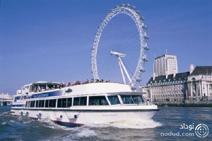 کروز رودخانه چشم لندن