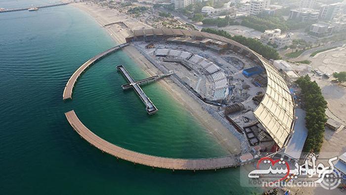 آوای خلیج فارس؛ بزرگ ترین آبنمای موزیکال خاورمیانه