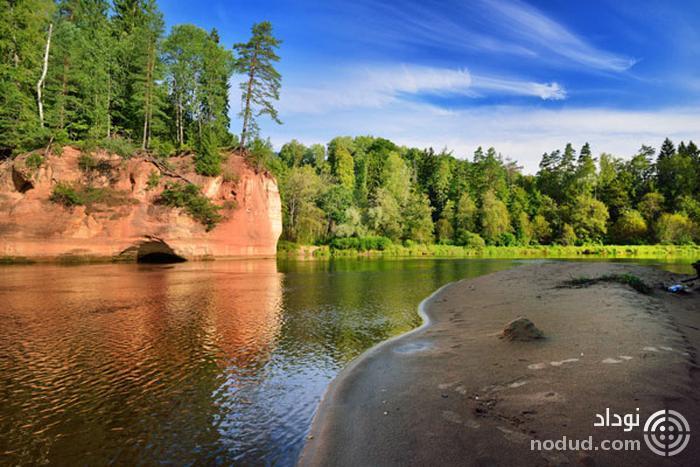 رود گوجا (Gauja) لتونی