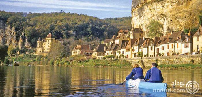 رود دوردونی (Dordogne) فرانسه