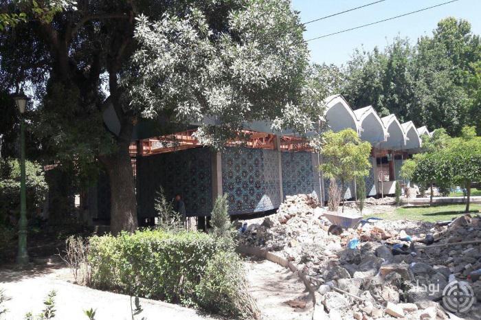 کتابخانه پارک شهر اثر سیحون