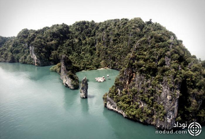 سینمای شناور بر روی آب پوکت تایلند