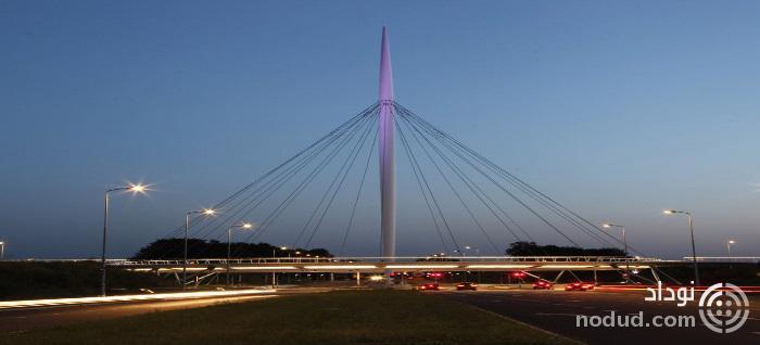 اولین پل معلق دوچرخه سواری جهان در هلند