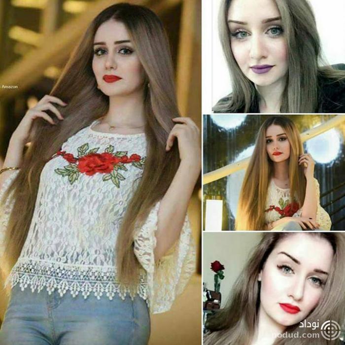 مدل قزاقستانی دینا گل تاسوا