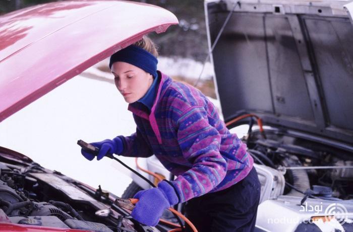 باطری خودرو در زمستان