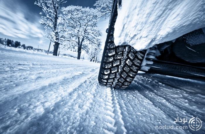 لاستیک خودرو در زمستان