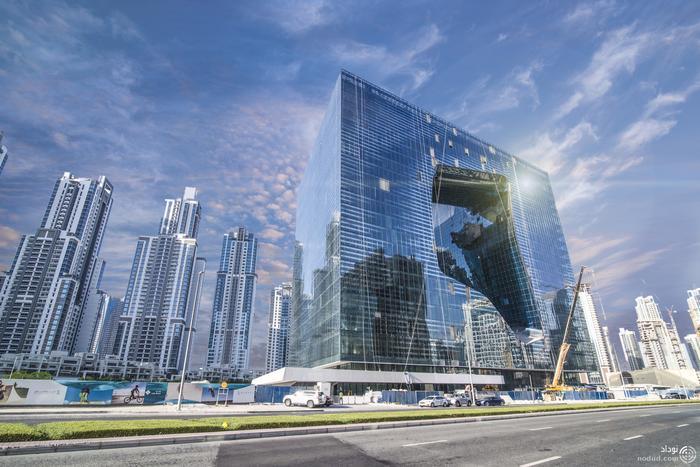 برج توخالی دبی