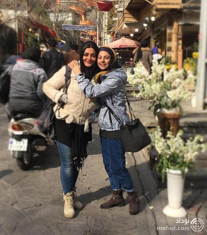 جوانه دلشاد و لیلا ایرانی