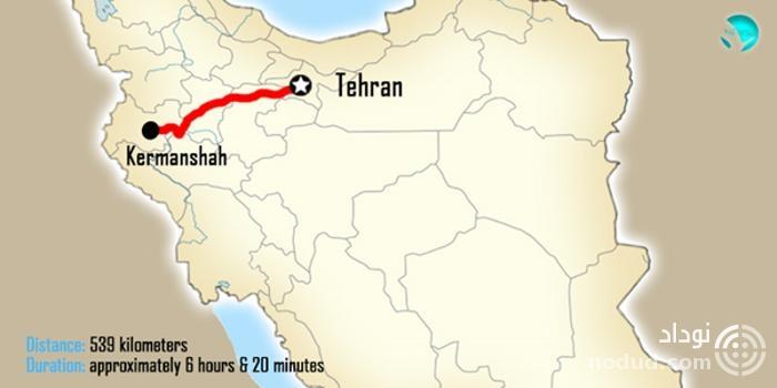 تهران کرمانشاه