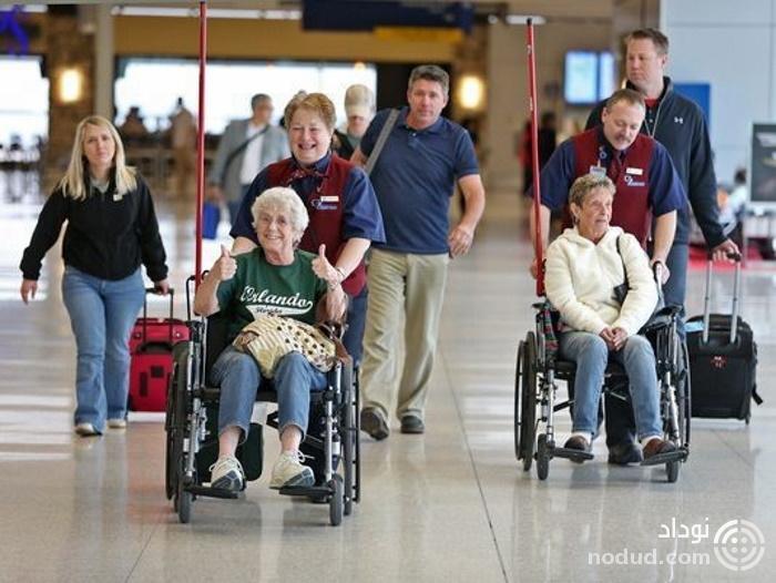 راهنمای سفر با سالمندان