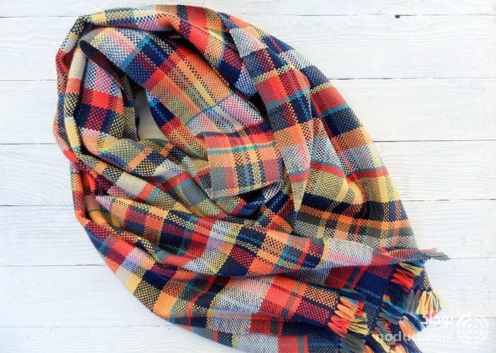 شال و روسری نخی