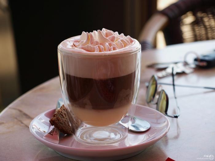 قهوه و بستنی